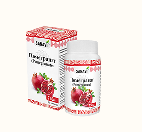 Помегранат (Pomegranate), Sanavi 60 капсул