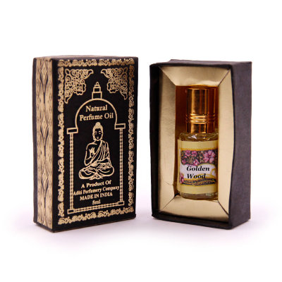 "Духи масляные ""Golden wood"", Secrets of India 5 ml"