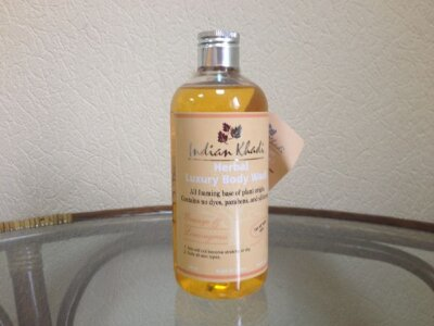 "Гель для душа ""Апельсин лемонграсс""""(Herbal Luxury Body Wash), Indian Khadi"