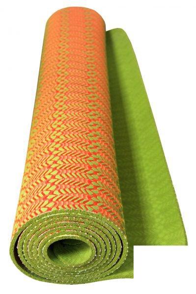 Натуральный коврик для йоги